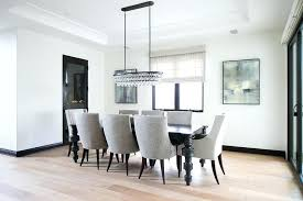 oval chandeliers for dining room black table with heather gray chairs transitional ornate legs oval chandeliers for dining room