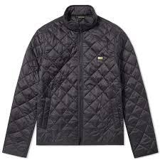 Barbour International Quilt Gear Jacket (Black) | END. & flat Adamdwight.com