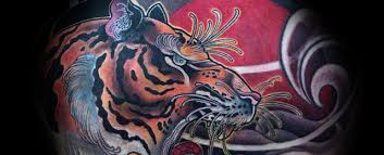 japanese tiger tattoo drawing. Exellent Drawing Japanese Tiger Tattoo Designs For Men Inside Drawing E