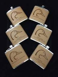 leather flasks gifts