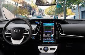 2018 toyota prius prime. brilliant toyota 2017 toyota prius prime interior with 116 inch display for 2018 toyota prius prime