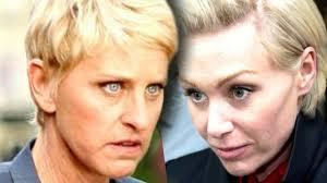 Ellen And Portia Ellen Degeneres Portia Fight At Ellens 20 Year Coming Out