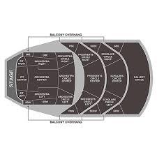 Northrop Minneapolis Tickets Schedule Seating Chart