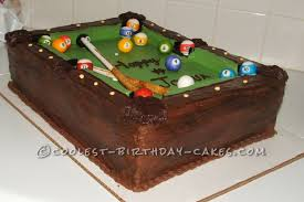 as i think i have mentioned before all of my cake ideas come from my boys so when one of the boys was turning 4 and had just learned how to play billiards
