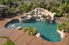 backyard pool with slides. Pool With Rock Slide Pools Pinterest Rock, Backyard And Slides