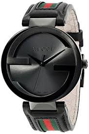 mens silver gg gucci belt fashion luxury 100% genuine leather for gucci men s ya133206 interlocking iconic bezel anthracite dial watch gucci