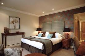 wall art lighting ideas. bedroomstunning bedroom design with brown floral wall art and modern ceiling lighting idea nice ideas s