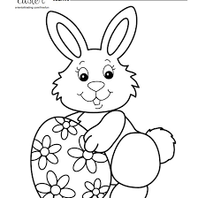 The best free, printable easter coloring pages! 10 Places For Free Easter Bunny Coloring Pages