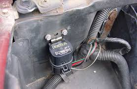 fan relay upgrade after the relay has been installed but before you install the headlight reconnect the battery the fan should be off now turn on the ignition the fan
