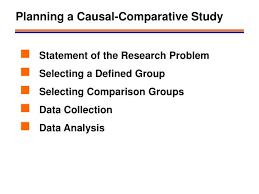 Causal Comparative Study Ppt Causal Comparative Research Designs Powerpoint Presentation