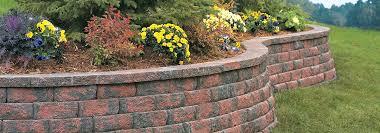 anchor aspen stone retaining wall from belgard commercial