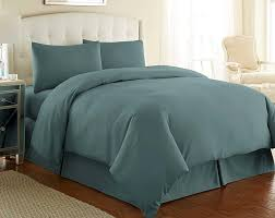 details about souths fine linens 3 pc oversize duvet cover set king california king blue