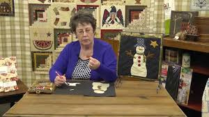 How to Applique a Snowman Quilt Block with Jan Patek- Block 11 ... & How to Applique a Snowman Quilt Block with Jan Patek- Block 11- Calendar  Quilt BOTM Adamdwight.com