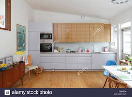 sloped ceiling cabinets. Interesting Ceiling Kitchen With Sloping Ceiling White And Wood Kitchen Cabinets  Stock Image To Sloped Ceiling Cabinets T
