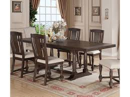 Winners Only Xcalibur Rectangular Dining Table With Turned Trestle