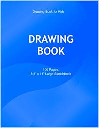 drawing book for kids 100 blank pages 8 5 inches x 11 inches white paper drawing book for children for doodling sketching plain blank paper