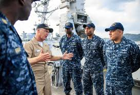 Why I Love Being A U S Navy Surface Warfare Officer Navy Live