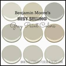 most popular gray paint colorsBenjamin Moores Best Selling Grays  Evolution of Style