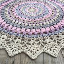 Free Crochet Rug Patterns Simple Different Crochet Rug Patterns Cottageartcreations