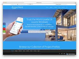 web home design. breezway-construction-website-with-divi-theme web home design