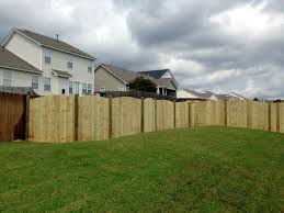 wood fence backyard. Adding A Wood Fence To Your Landscaping Scheme Can Transform Outdoor Living Space And Enhance The Style Of Home. Whatever Fencing Idea Backyard