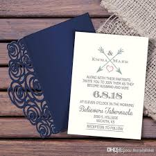 Wedding Invitation Folder New Folder Laser Cut 2018 Wedding Invitation Suites Custom Inner Sheet With Envelope Wedding Blank Inner Invitations Available Wedding Invitations