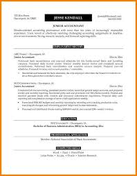 Accounting Resume Objective Inspiration Accounting Resume Objective Best Business Template