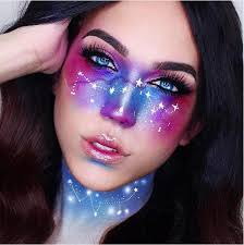 13 out of this world galaxy makeup ideas