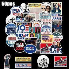50Stk Joe Biden & Harris Präsident Kampagne