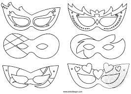 Maschere Di Carnevale Da Stampare E Colorare Per Bambini Gratis