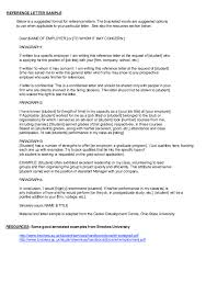 Elementary Student Recommendation Letter Resume Danetteforda