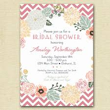 flower wreath bridal shower invitation flower invitation bridal printable invitations