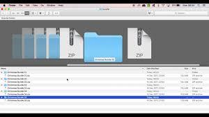Extracting Zip Files On Mac Os Sierra By Kyo Digital Studio