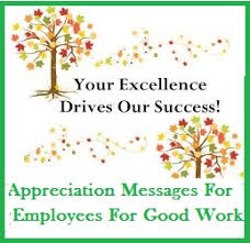 Words Of Appreciation For Employee Sample Messages And Wishes Appreciation Messages For Employees