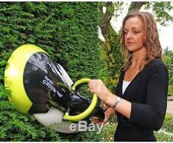 hedge trimmer garden groom pro blade cutter rotary tool gr electric hand new