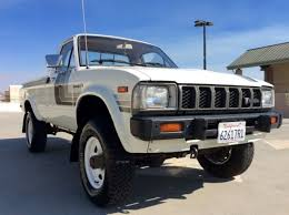 4x4 Toyota HiLux Long Bed Pickup Truck, Low Miles, Excellent ...