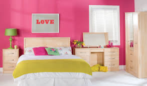 Kids Bedroom Stuff Pink Hello Kitty Wall Theme And White Wooden Crib With Pink Hello