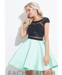 Plus Size Sequined Homecoming Dresses With Cap Sleeve Black And Mint Green And Black Dress