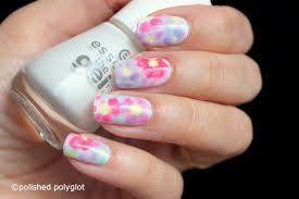 Nail art │ Floral watercolor nail design [Nail Crazies United ...