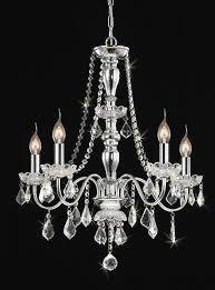 raine traditional 5 light chrome crystal shade chandelier 22 5 wx27 h xtkbch5cx