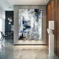 Large <b>Abstract</b> Painting,<b>Modern abstract</b> painting,oil <b>hand painting</b> ...
