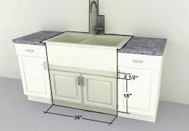 18 Inch Kitchen Cabinets New Deep Sink Base  Cabinet 45 Inch Base Cabinet R95
