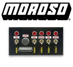 moroso 74131 drag racing 5 toggle switch dash fuse panel w push image is loading moroso 74131 drag racing 5 toggle switch dash
