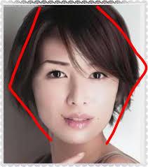 面長の芸能人ショート Makeup2019 美人 髪型黒髪美人髪型