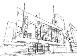 architecture sketch wallpaper. Architecture Is Always Born From The Constraints Of Function, Site, Budget And So On. Sketch Wallpaper