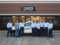 katy pest control. Fine Katy Hartz Technicians Pose For A Group Picture In Katy Texas For Pest Control M