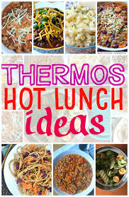 hot lunch ideas for your child s