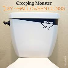 halloween decorations diy creeping monster vinyl clings crafts unleashed 2 designing office space pediatric cat 2 office lighting