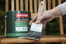 Woodworks Quick Dry Satin Woodstain By Johnstones Trade