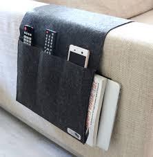 fashion er sofa storage bag sofa arm rest remote control holder tv remote control organizer 4